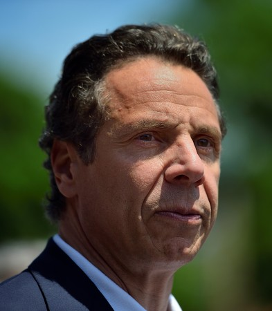 NY Governor Andrew Cuomo reports good news but warns that de…